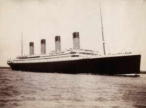 R.M.S.  Embarking on Fatal Maiden Voyage